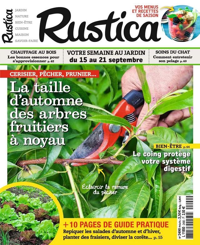 Rustica N°2490 Du 15 au 21 Septembre 2017