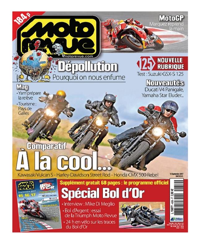 télécharger Moto Revue N°4059 Du 14 Septembre 2017
