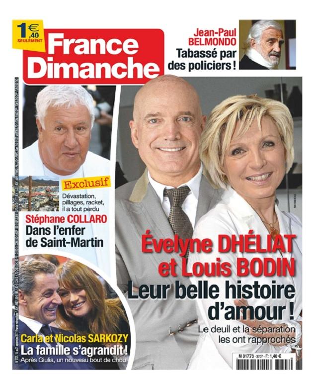 France Dimanche N°3707 Du 15 au 21 Septembre 2017