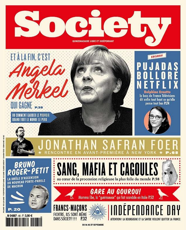télécharger Society N°65 Du 14 au 27 Septembre 2017