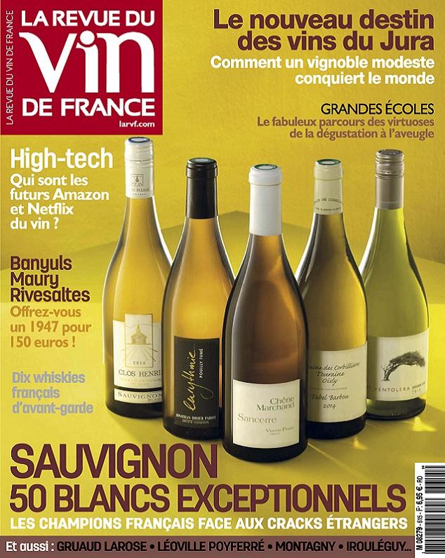 télécharger La Revue Du Vin De France N°615 - Octobre 2017