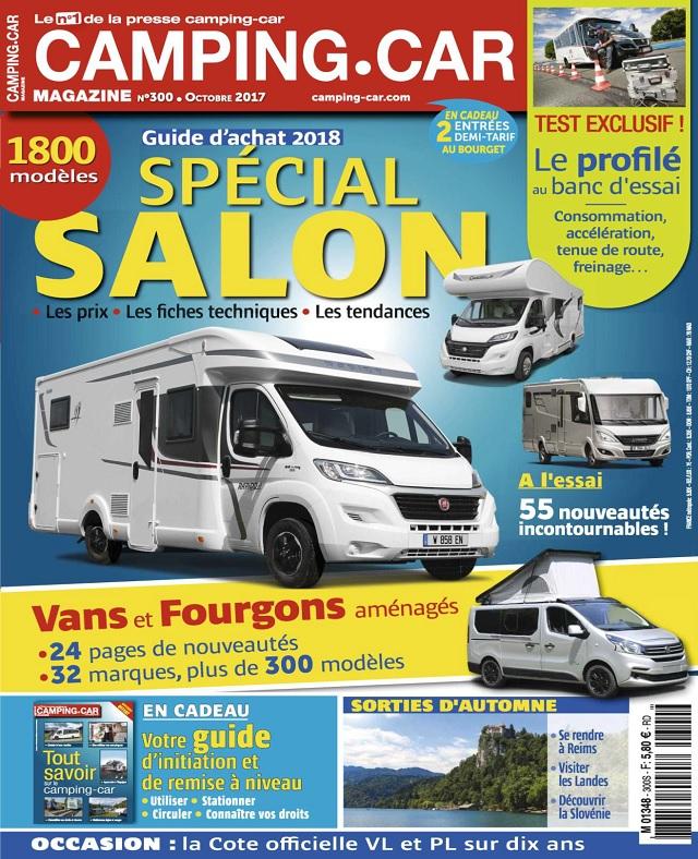 Camping-Car Magazine N°300 - Octobre 2017