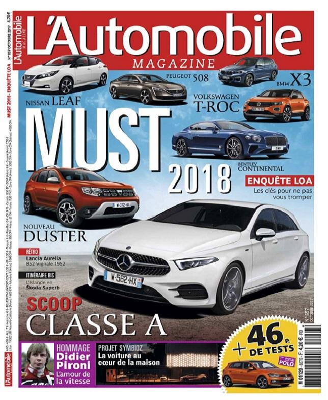 L'Automobile Magazine N°857 - Octobre 2017