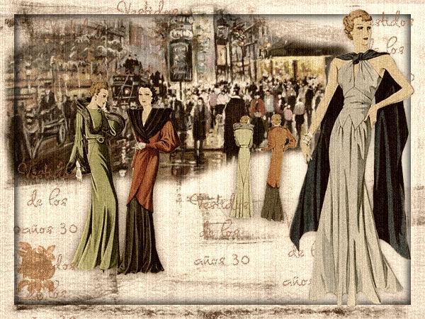 Vestidos de los años 30