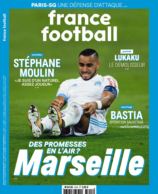 France Football N°3724 Du 19 Septembre 2017