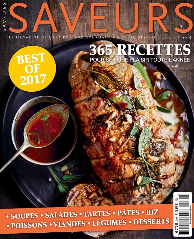 Saveurs Hors Série N°29 - Best Of 2017