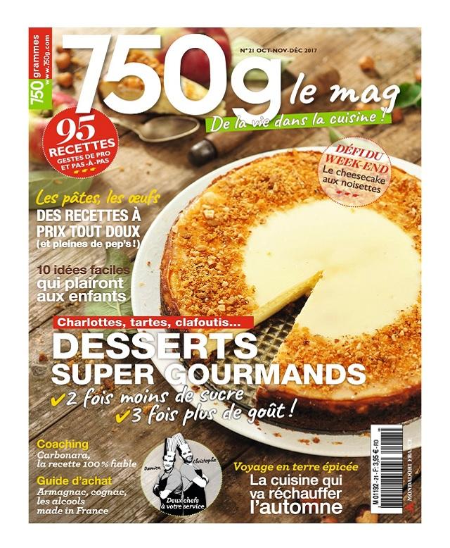 750g Le Mag N°21 - Octobre-Décembre 2017