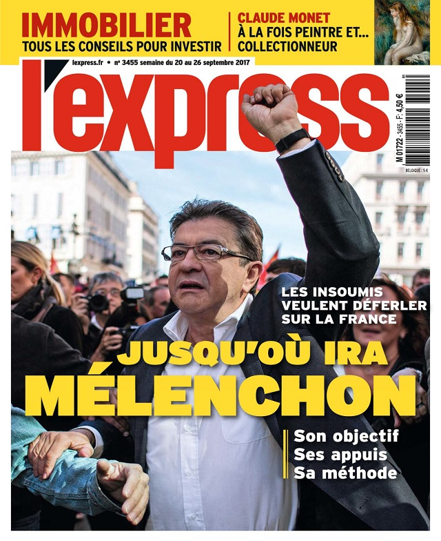 L'Express N°3455 Du 20 au 26 Septembre 2017
