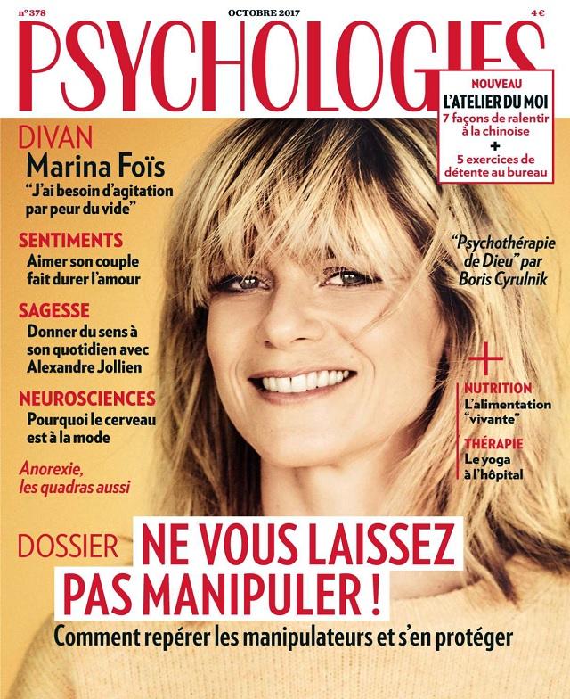 Psychologies N°378 - Octobre 2017