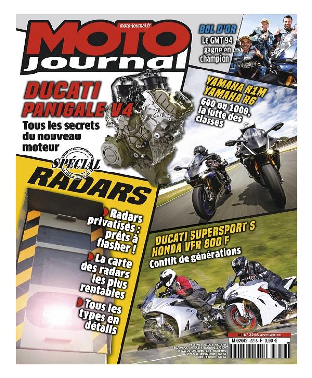 Moto Journal N°2216 Du 20 Septembre 2017