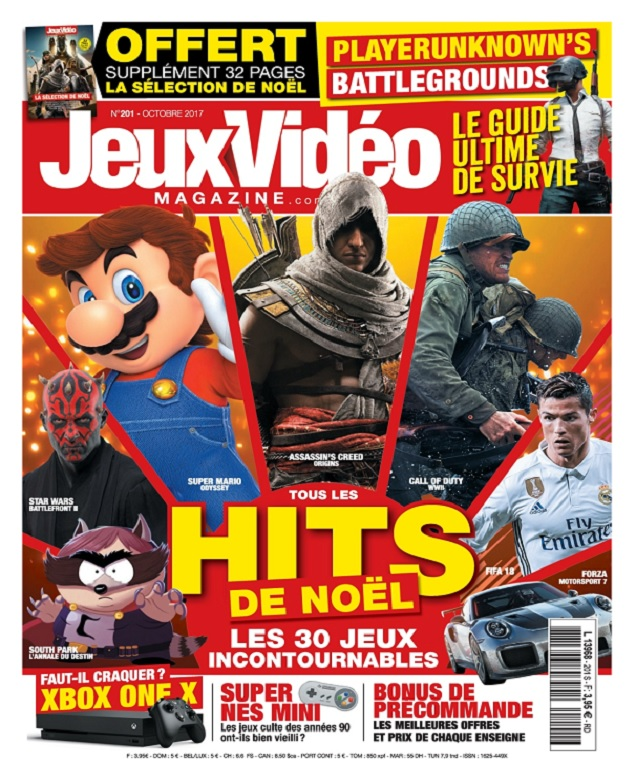 télécharger Jeux Vidéo Magazine N°201 - Octobre 2017