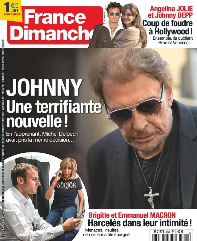 télécharger France Dimanche N°3708 Du 22 au 28 Septembre 2017
