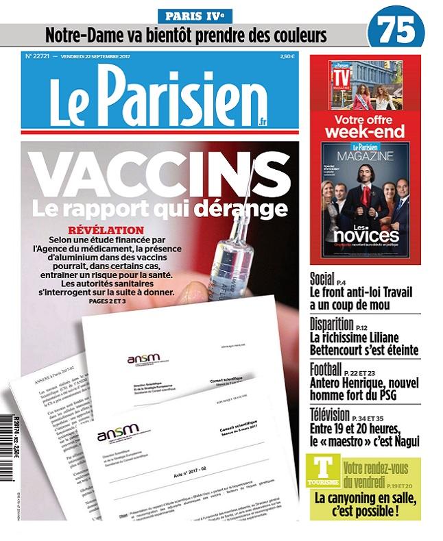 télécharger Le Parisien Du Vendredi 22 Septembre 2017