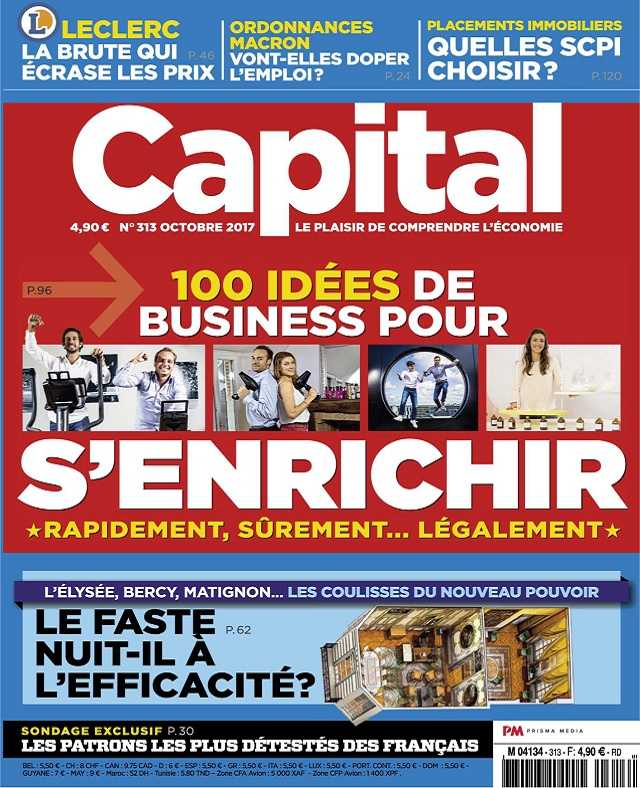 Capital N°313 - Octobre 2017