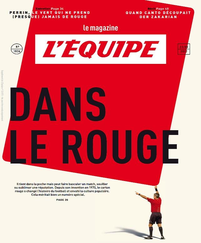 télécharger L'Equipe Magazine N°1836 Du 23 Septembre 2017