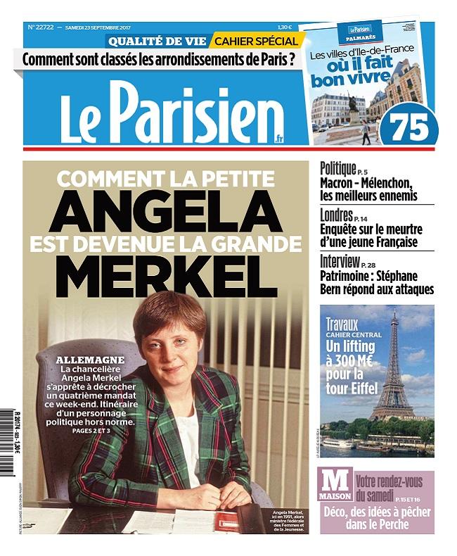 télécharger Le Parisien Du Samedi 23 Septembre 2017