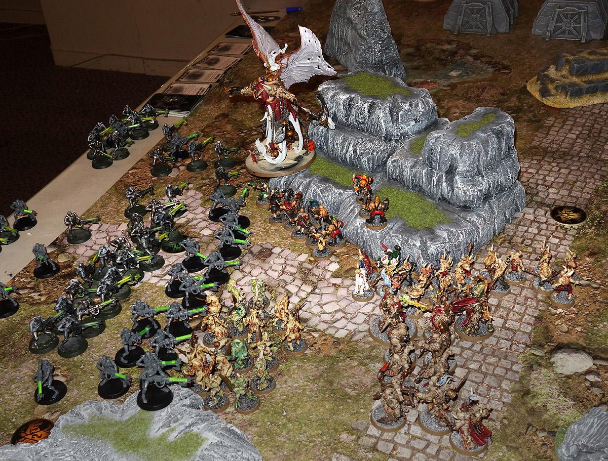 Death Guard (Mortarion) Vs. Necrons 170923122231195490