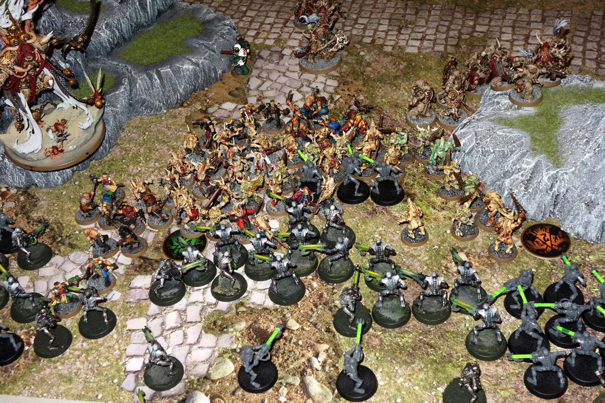 Death Guard (Mortarion) Vs. Necrons 170923123043235383