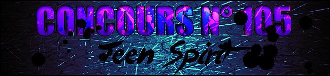 Concours n°105 : Teen Spirit 170924095450830654