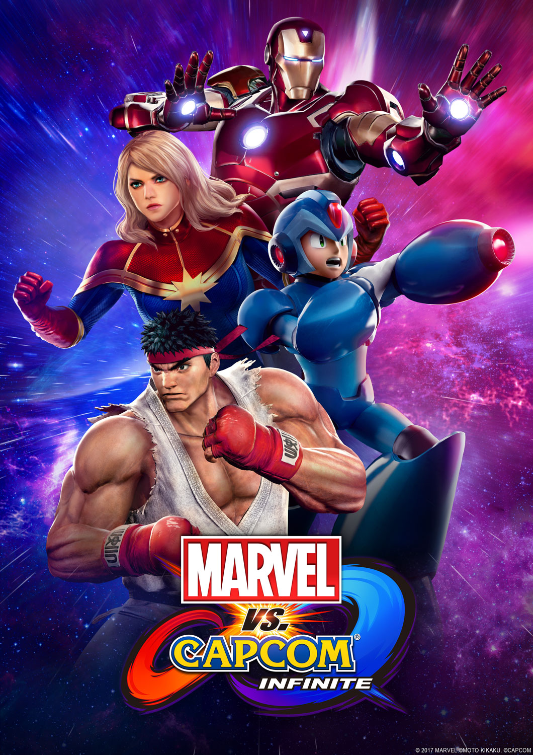 Poster for Marvel vs. Capcom: Infinite