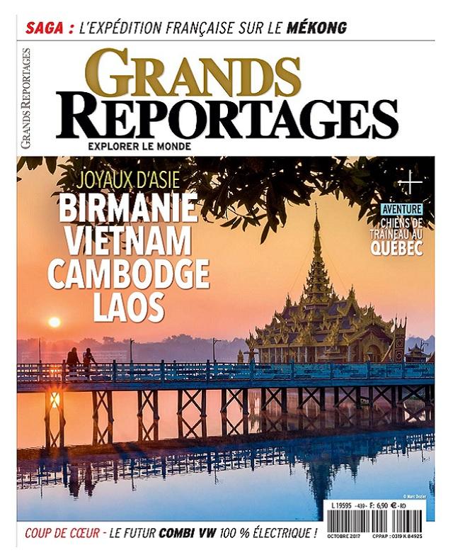 télécharger Grands Reportages N°439 - Octobre 2017