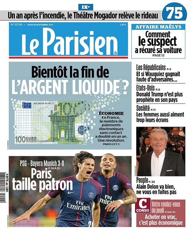 télécharger Le Parisien Du Jeudi 28 Septembre 2017