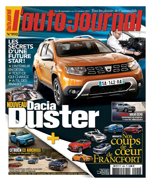 télécharger L'Auto-Journal N°992 Du 28 Septembre au 11 Octobre 2017