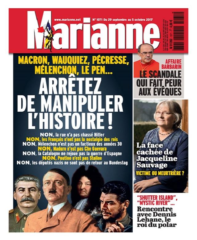 télécharger Marianne N°1071 Du 29 Septembre au 5 Octobre 2017