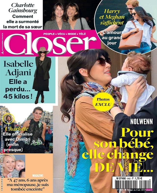 télécharger Closer N°642 Du 29 Septembre au 5 Octobre 2017