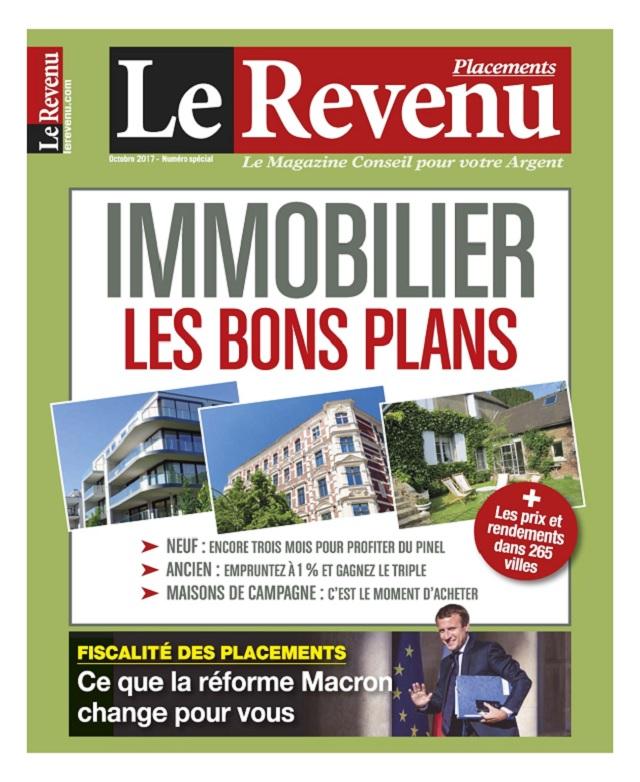 télécharger Le Revenu Placements N°176 - Octobre 2017