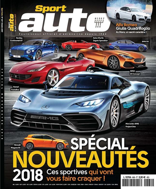 télécharger Sport Auto N°669 - Octobre 2017