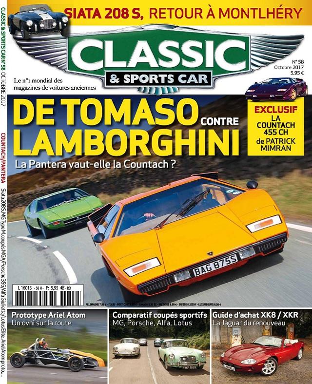 télécharger Classic et Sports Car N°58 - Octobre 2017