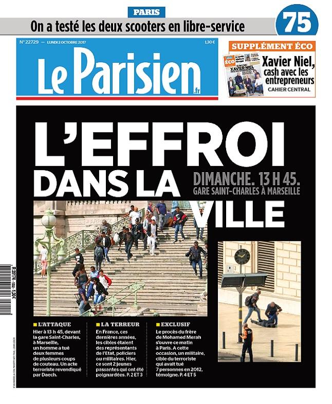 télécharger Le Parisien + Eco + 3 Départements Du Lundi 2 Octobre 2017
