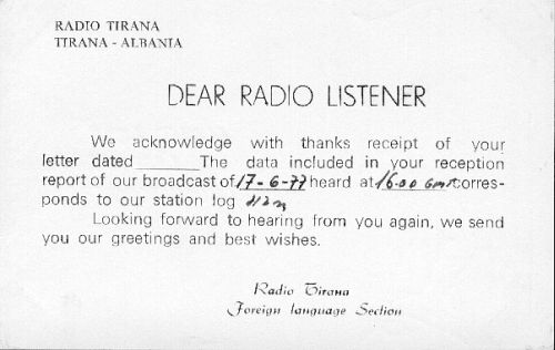 Radio Tirana 12 avril 1985 171003101315988361