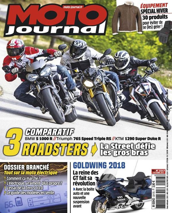 télécharger Moto Journal N°2217 Du 4 Octobre 2017