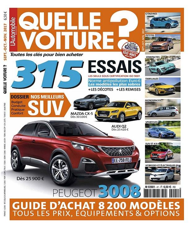 télécharger L'Automobile Hors Série Quelle Voiture N°41 - Septembre-Décembre 2017