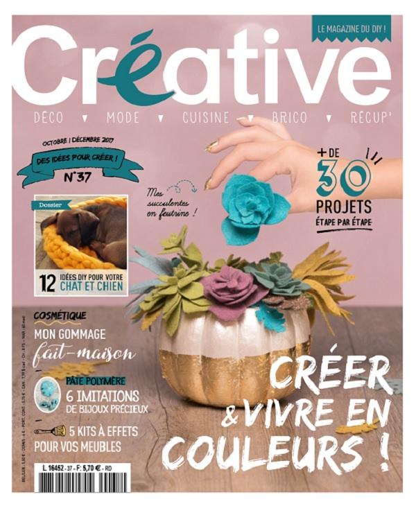 télécharger Créative N°37 - Octobre-Décembre 2017