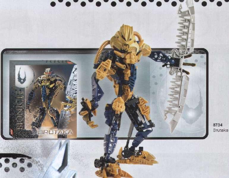 Les prototypes des générations Bionicle 17100408145156821