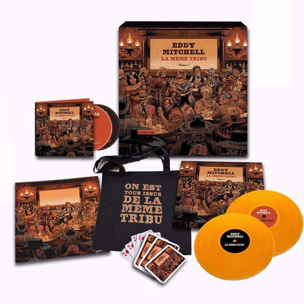 """Eddy Mitchell Sortie Album """"La Même Tribu""""  171005021433364801"""