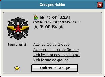 FBI OF [U.S.A] [45001] 171005034252951701