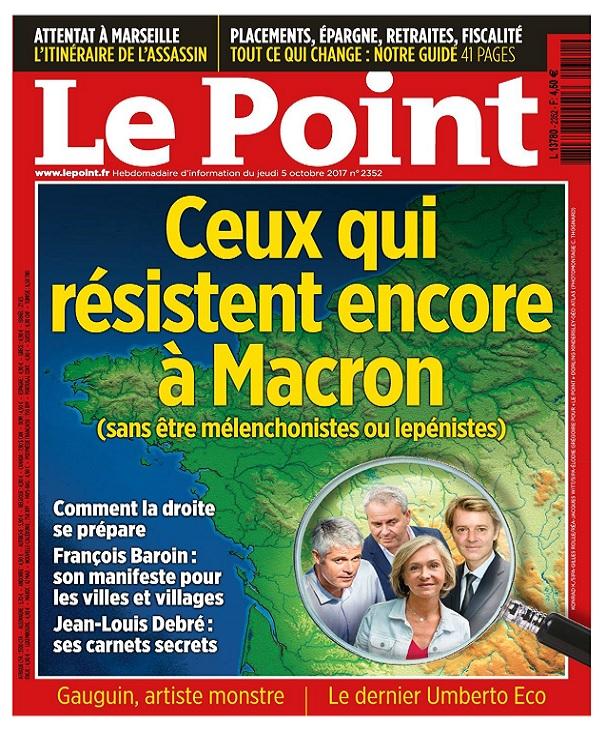 télécharger Le Point N°2352 Du 5 au 11 Octobre 2017