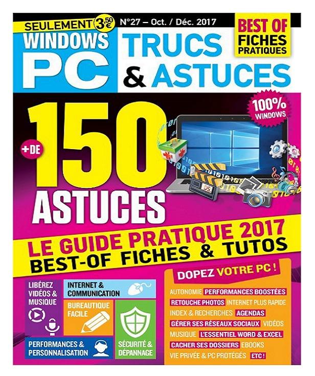 télécharger Windows PC Trucs et Astuces N°28 - Octobre-Décembre 2017