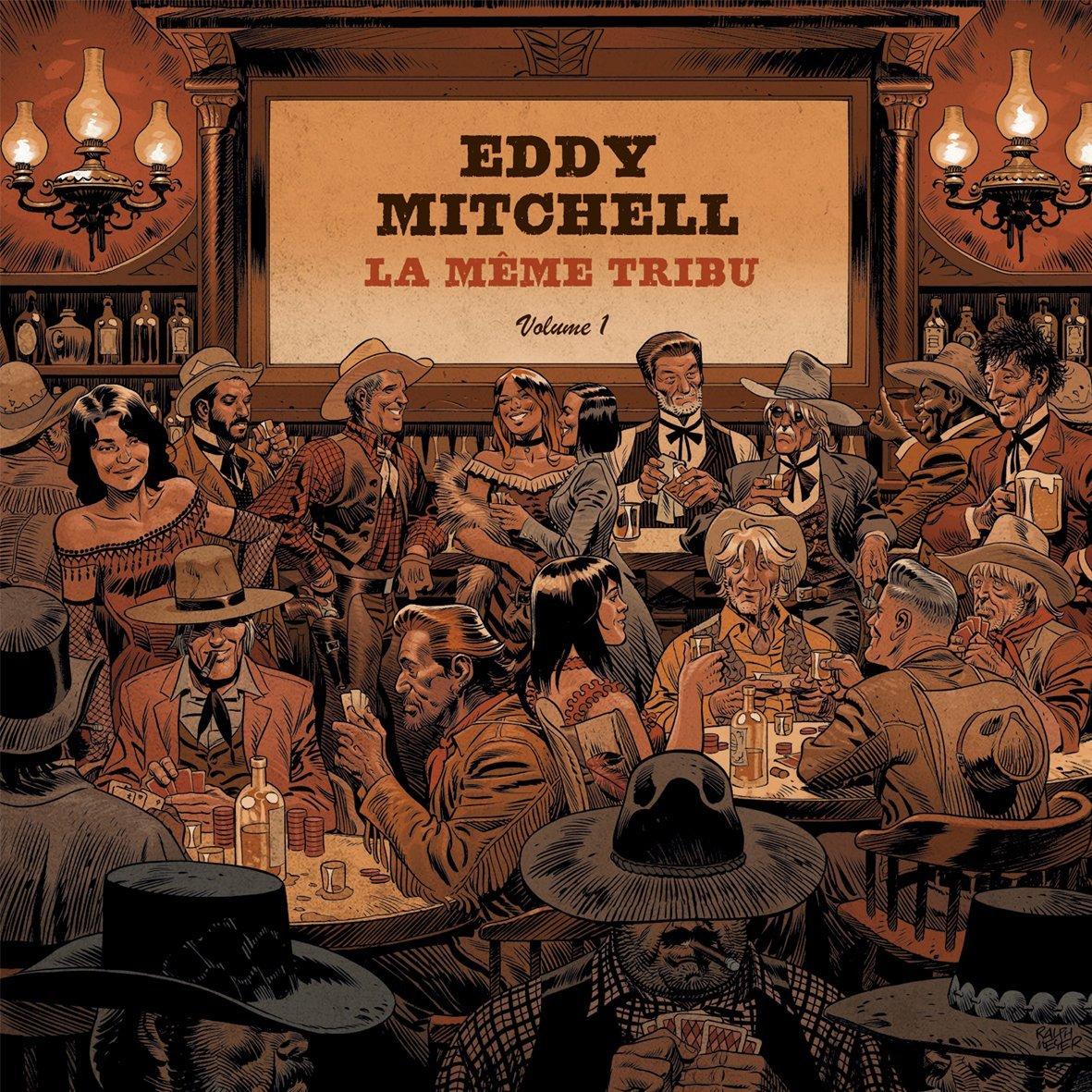 """Eddy Mitchell Sortie Album """"La Même Tribu""""  171005111140521991"""