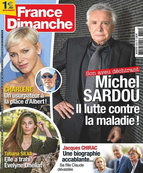 télécharger France Dimanche N°3710 Du 6 au 12 Octobre 2017