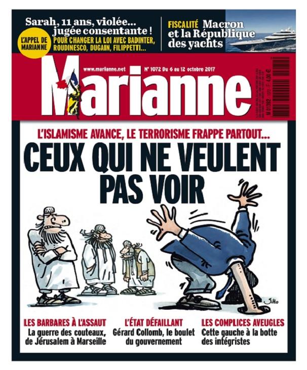 télécharger Marianne N°1072 Du 6 au 12 Octobre 2017