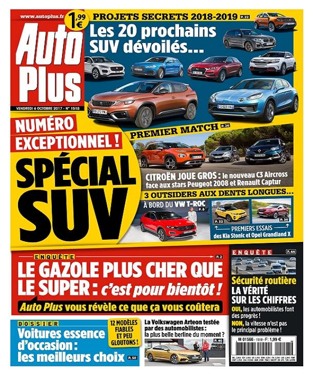 télécharger Auto Plus N°1518 Du 6 au 12 Octobre 2017