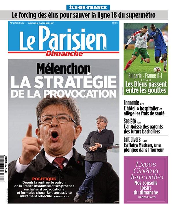 télécharger Le Parisien Du Dimanche 8 Octobre 2017