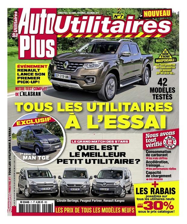 Auto Plus Hors Série Utilitaires N°7 - Octobre-Décembre 2017