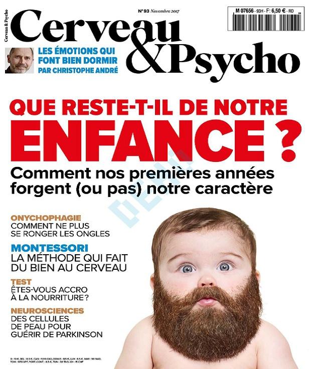 télécharger Cerveau et Psycho N°93 - Novembre 2017