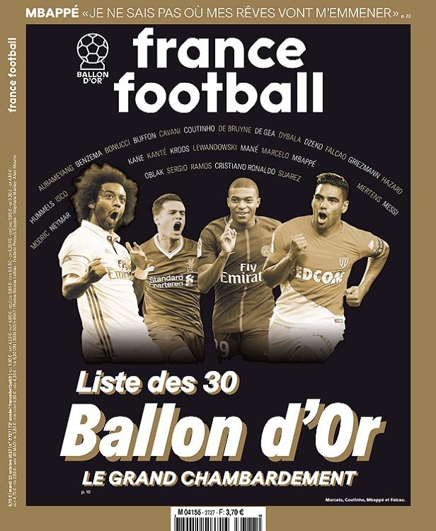 télécharger France Football N°3727 Du 10 Octobre 2017